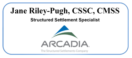 Jane Riley-Pugh, CSSC, CMSS Structured Settlement Specialist - Arcadia